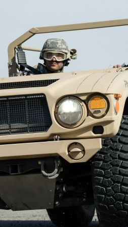 Phantom Badger, combat support vehicle, U.S. Army (vertical)