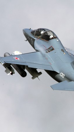Yak-130, attack aircraft, Russian Army (vertical)