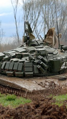 T-72B, tank, Russian Army (vertical)