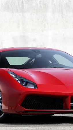 Ferrari 488 GTB, coupe, supercar, sport car, review, buy, rent (vertical)