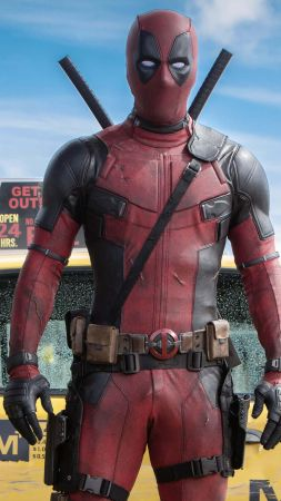 Deadpool, Best Movies of 2016, movie, Ryan Reynolds (vertical)