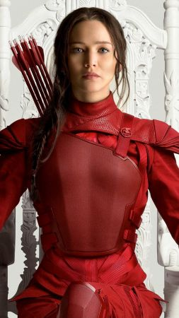 The Hunger Games, Mockingjay - Part 2, movie, Jennifer Lawrence (vertical)