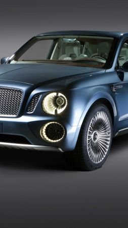 Bentley Bentayga, SUV, test drive (vertical)