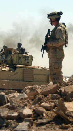M3A2 Bradley, fighting vehicle, Iraq, U.S. Army