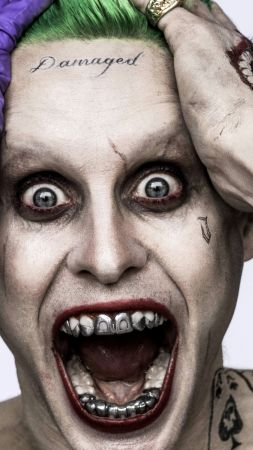 Suicide Squad: Jared Leto, Joker, Best Movie of 2016 (vertical)