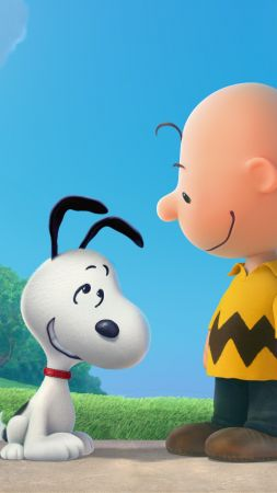 The Peanuts Movie, Snoopy, Charlie Brown (vertical)