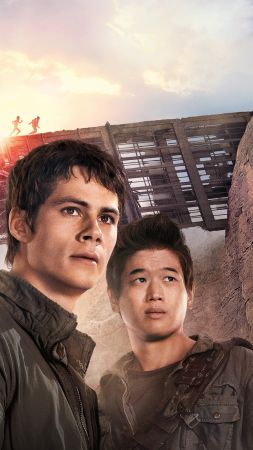 Maze Runner 2, The Scorch Trials, movie, Dylan O'Brien, action (vertical)