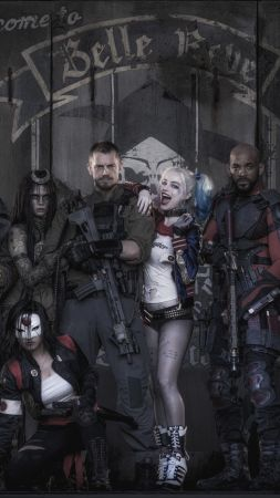 Suicide Squad, team, Best Movies of 2016 (vertical)