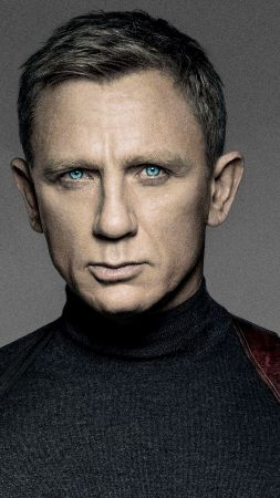 Spectre, movie, Daniel Craig (vertical)