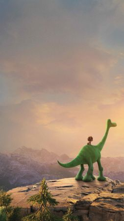 The Good Dinosaur, mount (vertical)