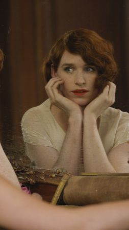 The Danish Girl, Eddie Redmayne, Alicia Vikander (vertical)