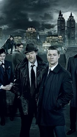 Gotham 2 season, Gotham, TV Series, crime (vertical)