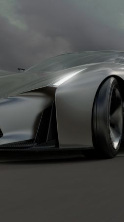 Nissan 2020 Vision Gran Turismo, concept, Nissan, supercar, luxury cars, sports car, speed, test drive