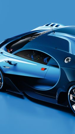 Bugatti Vision Gran Turismo, Bugatti, Grand Sport, sport car, Best cars of 2015 (vertical)