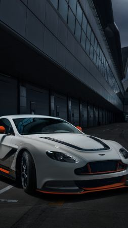 Aston Martin Vantage, sports car, V12, v8, test drive, speed (vertical)