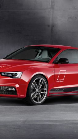Audi A5, Dtm selection, Audi, red, 2016, supercar 2016 (vertical)