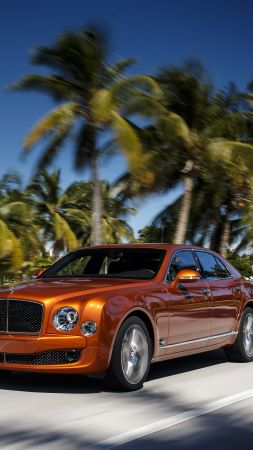 Bentley Mulsanne, interior, luxury cars, Bentley, Flying B, metallic, leather, test, Frankfurt 2015 (vertical)