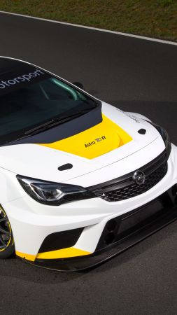 Opel Astra TCR 7, sport cars, Opel, racing, leather, test, Frankfurt 2015, 2016 (vertical)