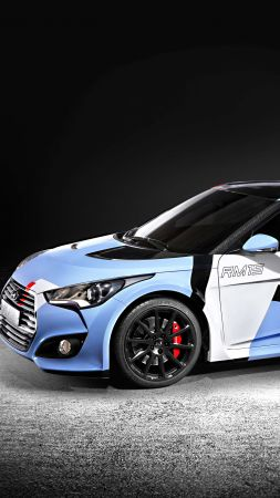 Hyundai RM15, Rally Edition, concept, Seoul Motor Show 2015, sports car, rally (vertical)