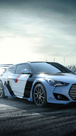 Hyundai RM15, Rally Edition, concept, Seoul Motor Show 2015, sports car, rally, hyundai (vertical)