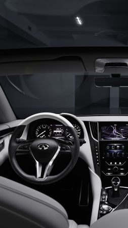 Infiniti Q60, concept, Infiniti, sports car, interior, coupe, Frankfurt 2015, future cars, luxury cars 2016 (vertical)