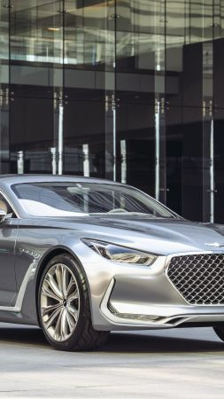 Hyundai Vision G, coupe, concept, sports car, rally, hyundai (vertical)