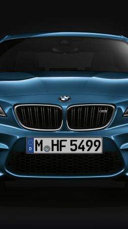 BMW M2, blue, SUV, xDrive, sDrive (vertical)