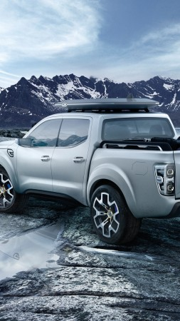 Renault Alaskan, concept, pick-up (vertical)