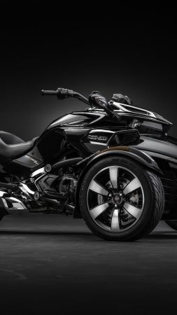 CAN-AM SPYDER F3-T, concept, tricycle (vertical)