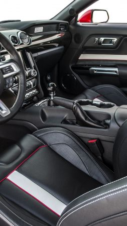 Ford Mustang Apollo Edition, mustang, interior, sport cars (vertical)