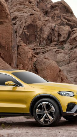 Mercedes-Benz GLC, concept, gold (vertical)