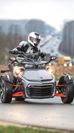 CAN-AM SPYDER F3-T, tricycle, test (vertical)