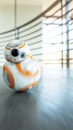 BB 8 sphero, starwars, robot-toy