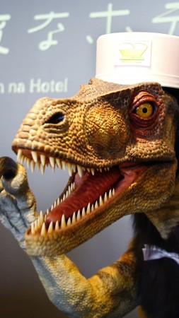The robot raptor, Robot Hotel