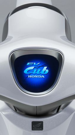 Honda EV Cub, electric, concept (vertical)