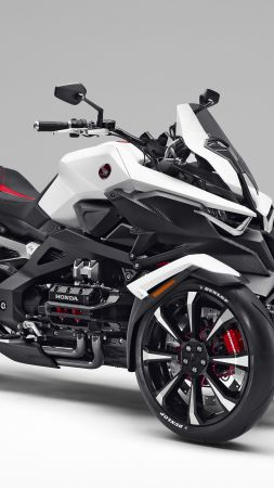 Honda NEOWING, electric, tricycle, concept (vertical)