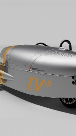 Morgan EV3, electric, sport car, wheeler, review, test drive