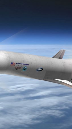 XS 1 Spaceplane, BOEING, military, concept,  (vertical)