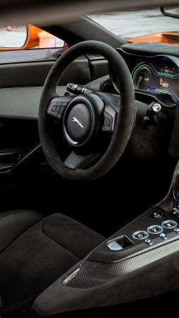 Jaguar C-X75, 007 Spectre, james bond, interior, spectre (vertical)