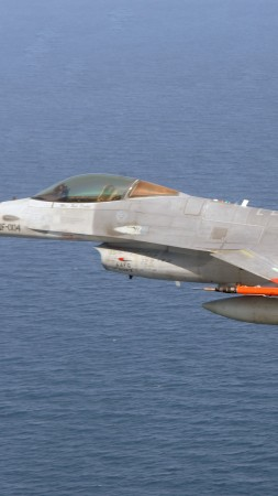 Boeing QF-16, USA army, fighter aircraft, air force, USA (vertical)