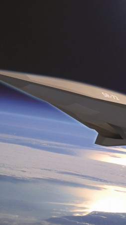 SR-72, Lockheed, Hypersonic Unmanned Reconnaissance Aircraft, Darpa, jet, plane, aircraft, U.S. Air Force (vertical)