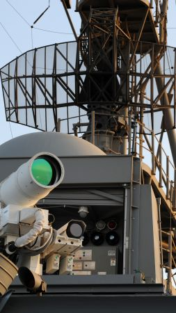 Laser Weapon System, LAWs, USA Army, United States Navy (vertical)