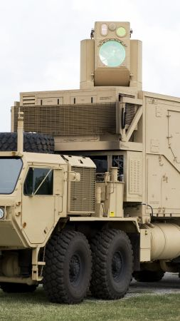 Boeing HEL MD, The High Energy Laser Mobile, USA Army (vertical)