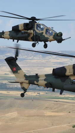 Agusta Westland T-129, AgustaWestland, attack helicopter, Turkish Aerospace Industries (vertical)