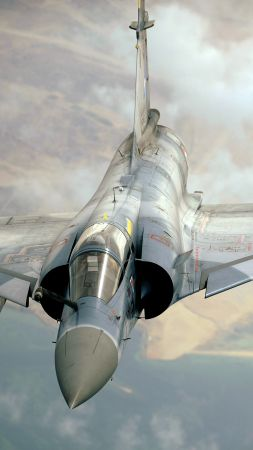 Mirage 2000, attack, Aircraft, France Air Force, France army (vertical)