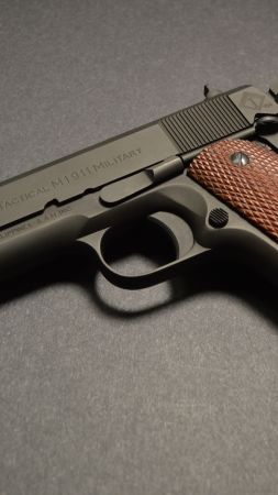 ATI FX MILITARY 1911, gun (vertical)