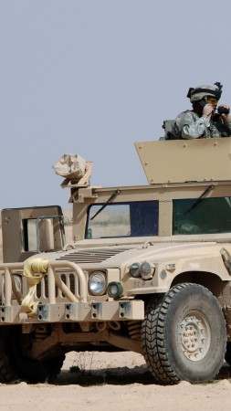 Humvee, light truck, United States military, U.S. Army (vertical)