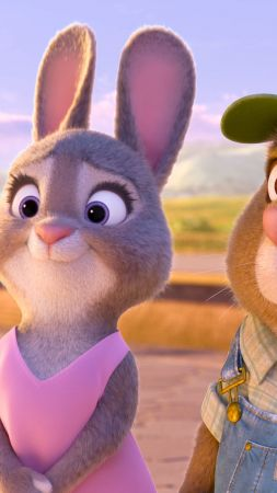 Zootopia, rabbit, Best Animation Movies of 2016, cartoon (vertical)