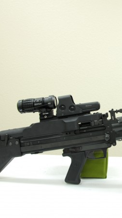 M60, machine gun (vertical)