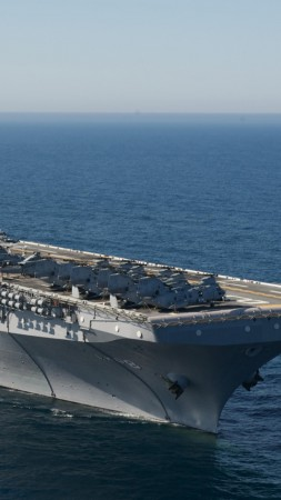 LHD-8, USS MAKIN ISLAND, assault ship (vertical)
